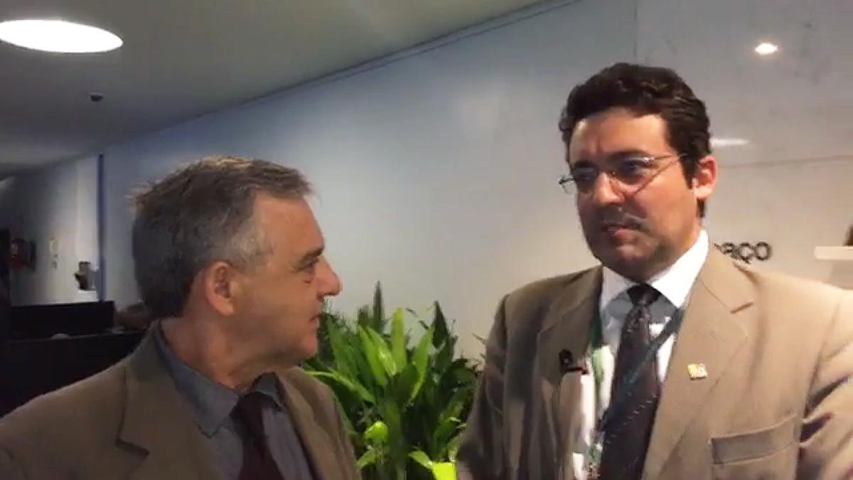 Alex Canuto, em entrevista à Agência dos Servidores na tarde desta quarta-feira (22)