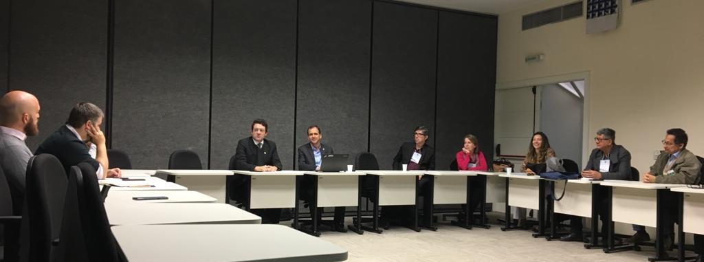 Alex Canuto e Cristiano Heckert em reunião com EPPGGs em São Paulo