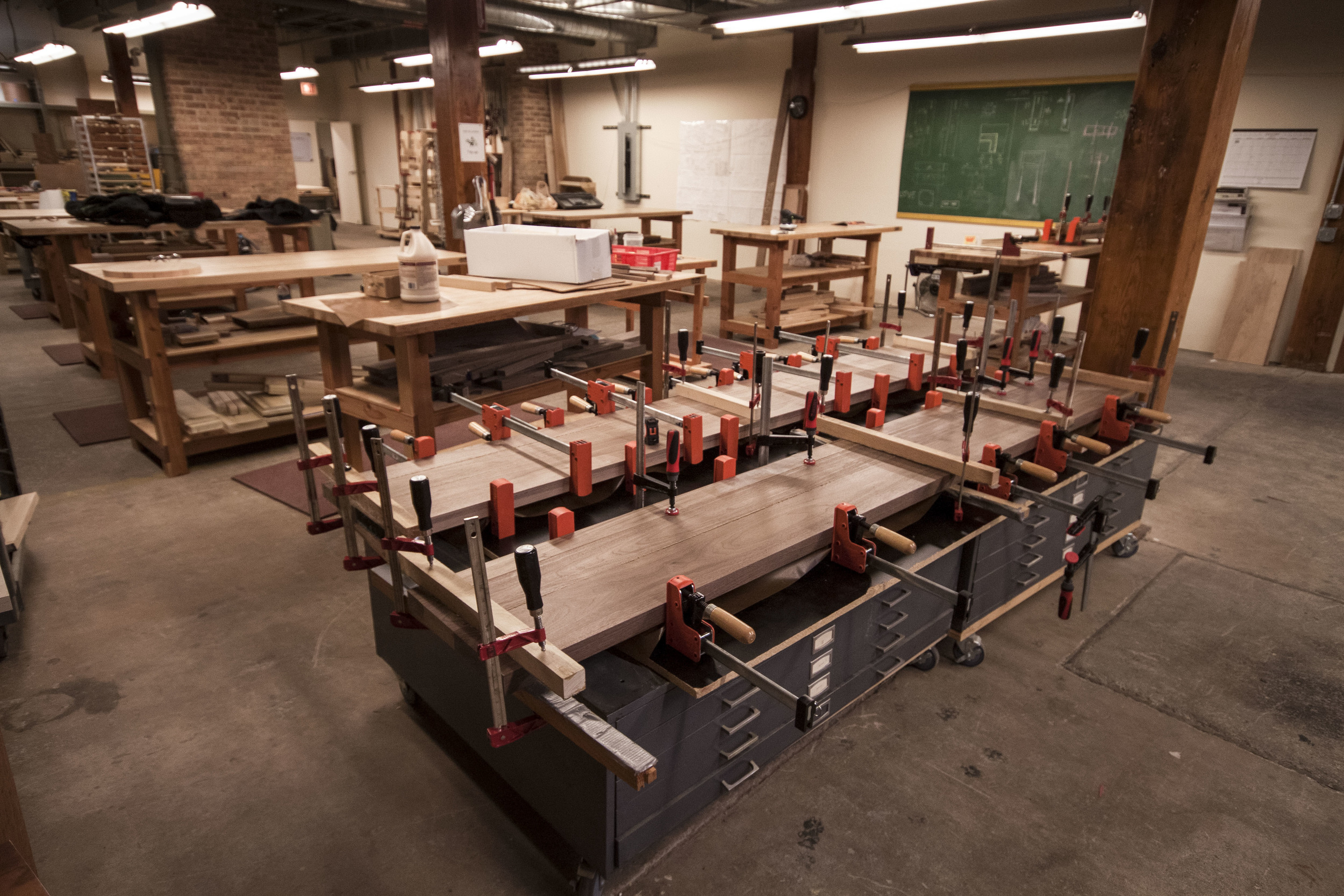 You can never have too many clamps.