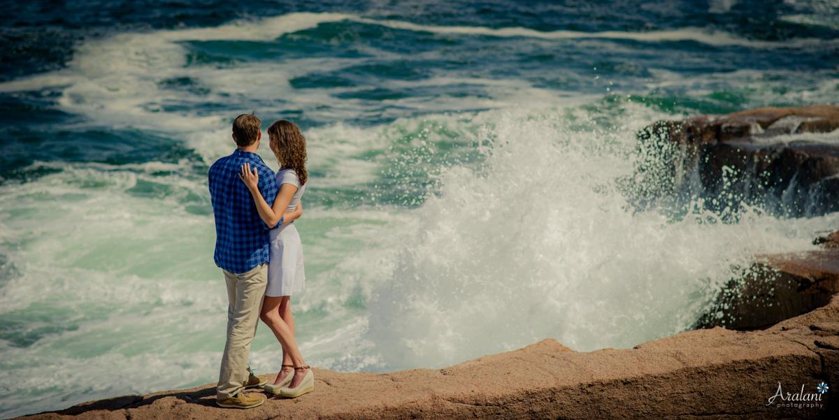 Erin & Joel on the Acadia Coast