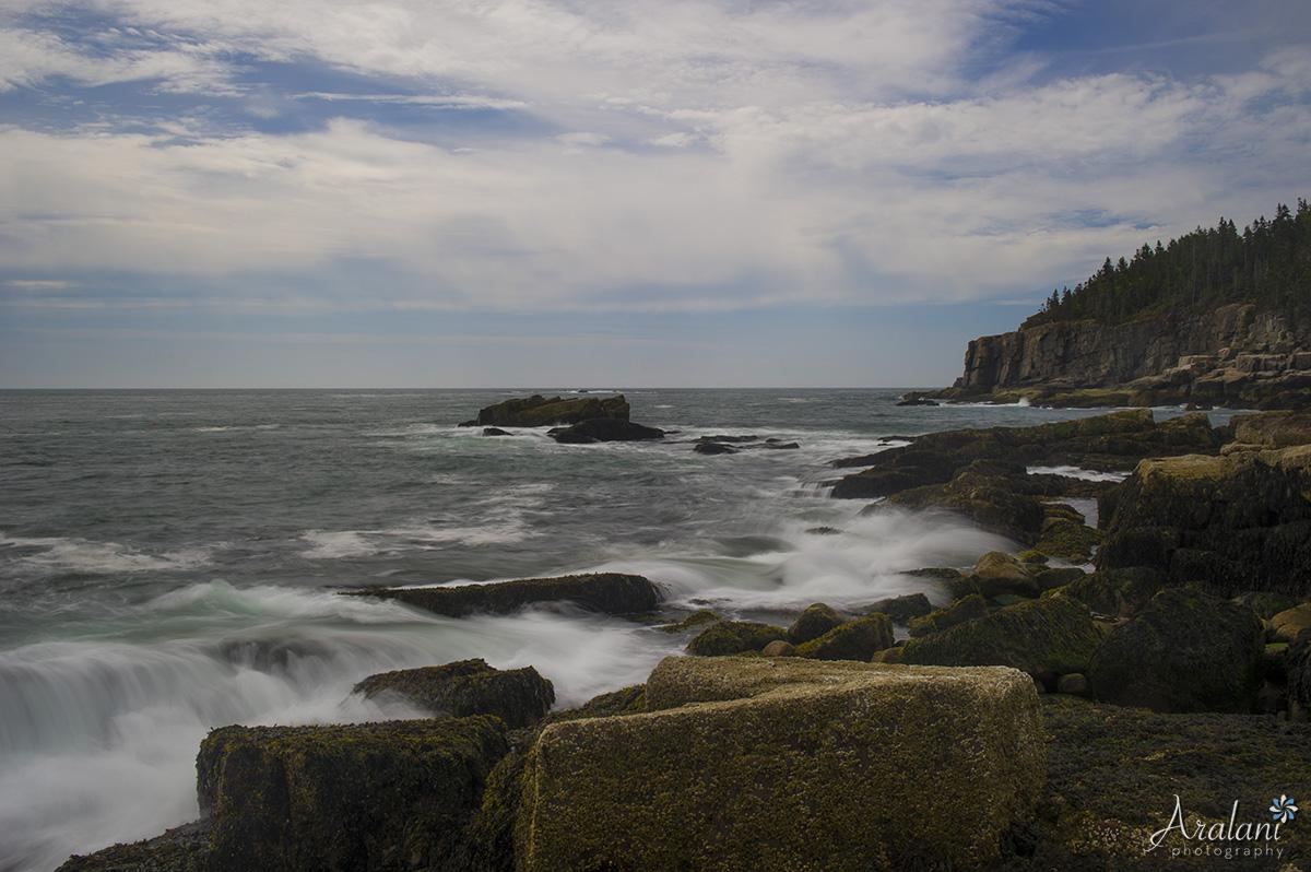 The quintessential Maine coastline.