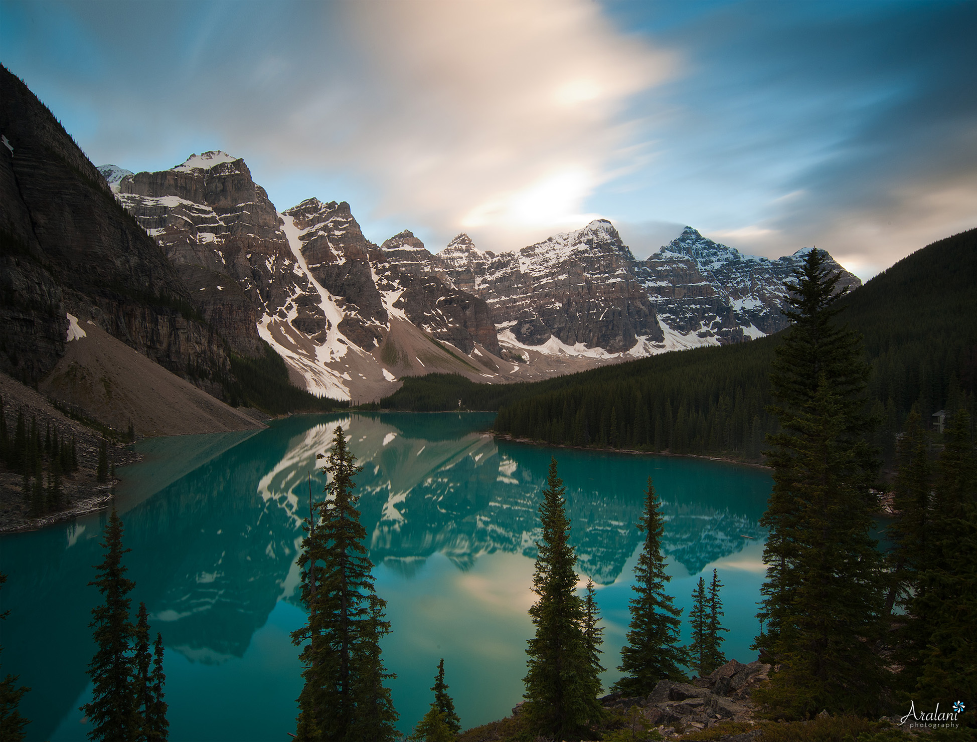 Lake Moraine - Banff National Park, Canada
