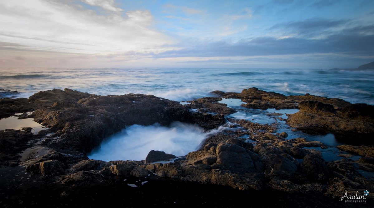 Thor's Well - Cape Perpetua, Oregon