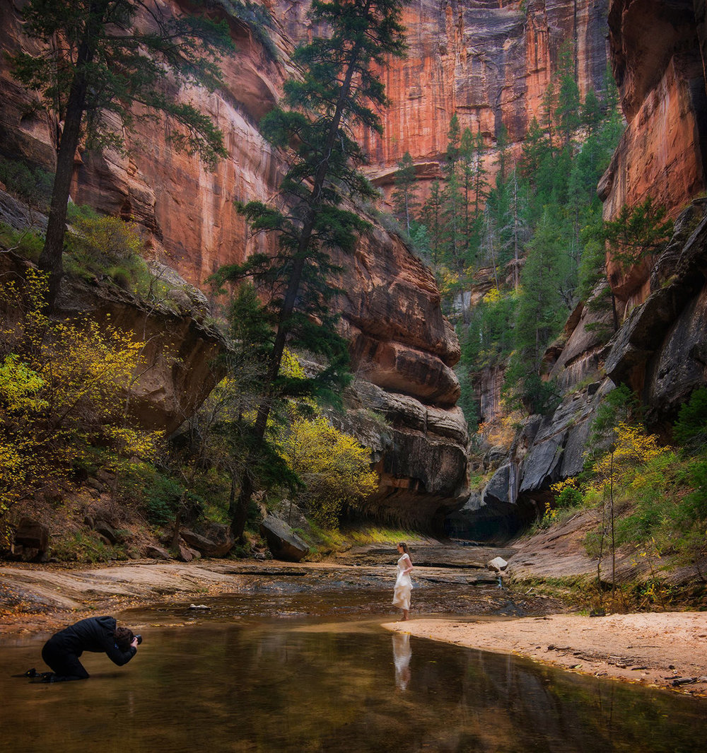 The Subway - Zion NP - Photo by Bill Ratcliffe