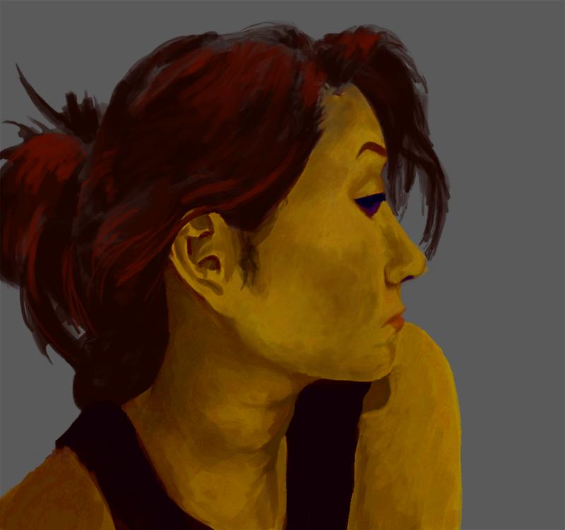 Digital Self Portrait, 2014