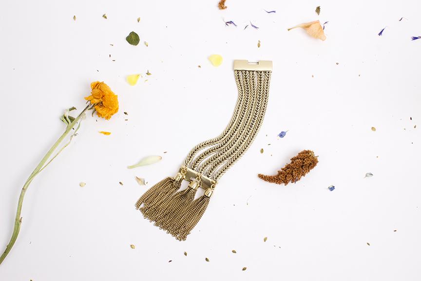"ManiaMania Brass ""Magick"" Bracelet - $295"