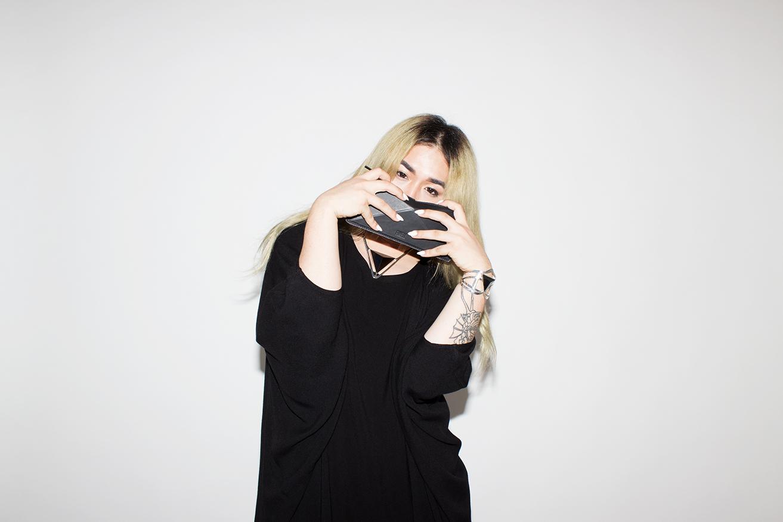 Photography by  Katy Shayne  - Model Kaidon Ho - Style Masha Poloskova - Top Tienda Ho - Jewelry MANIAMANIA - Bags Finell