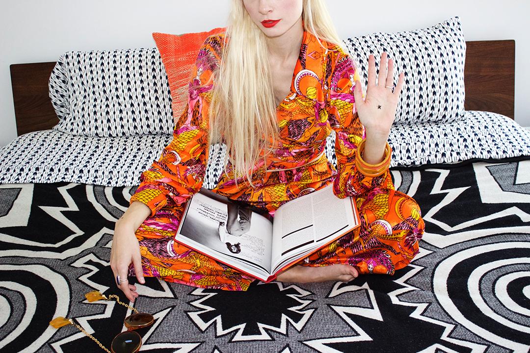 Rachel Pychinzska shot by Katy Shayne. Style by Masha Poloskova.