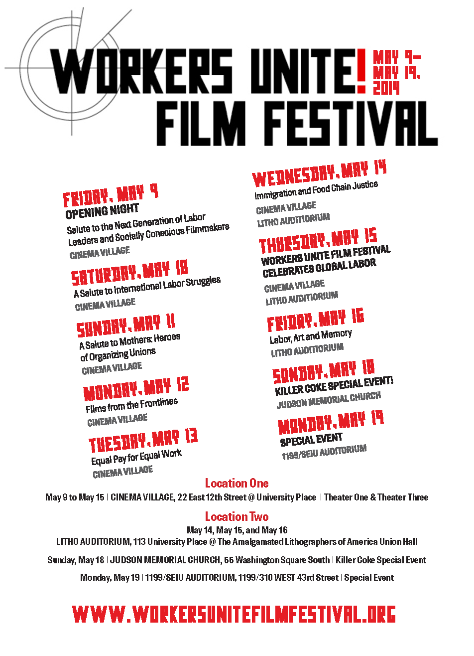 Workers Unite Film Festival Overview