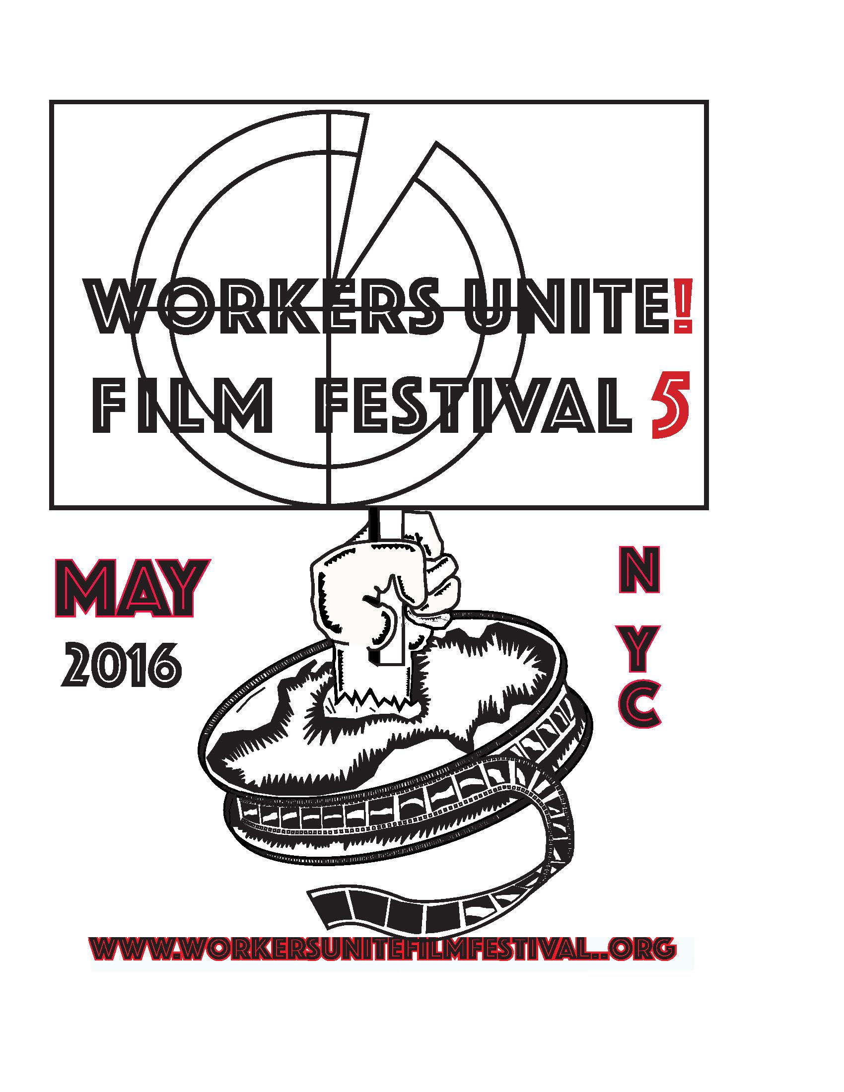 Workers Unite Film Festival 5 logo