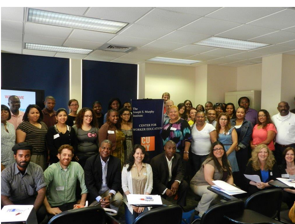 Professors and staff of The Joseph F. Murphy Institute for WOrkers Education and Labor Studies/CUNY