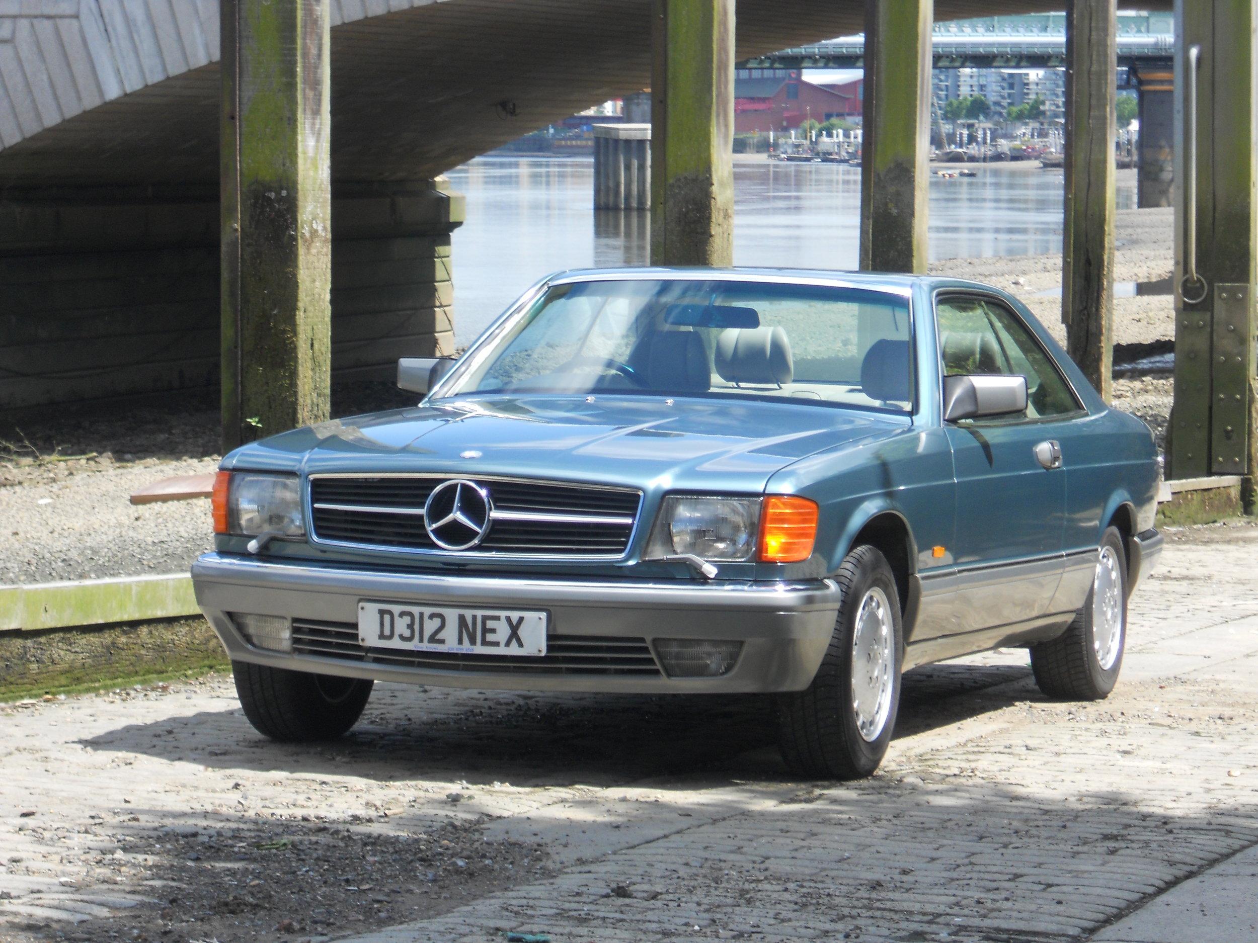 1986 Mercedes-Benz 500SEC