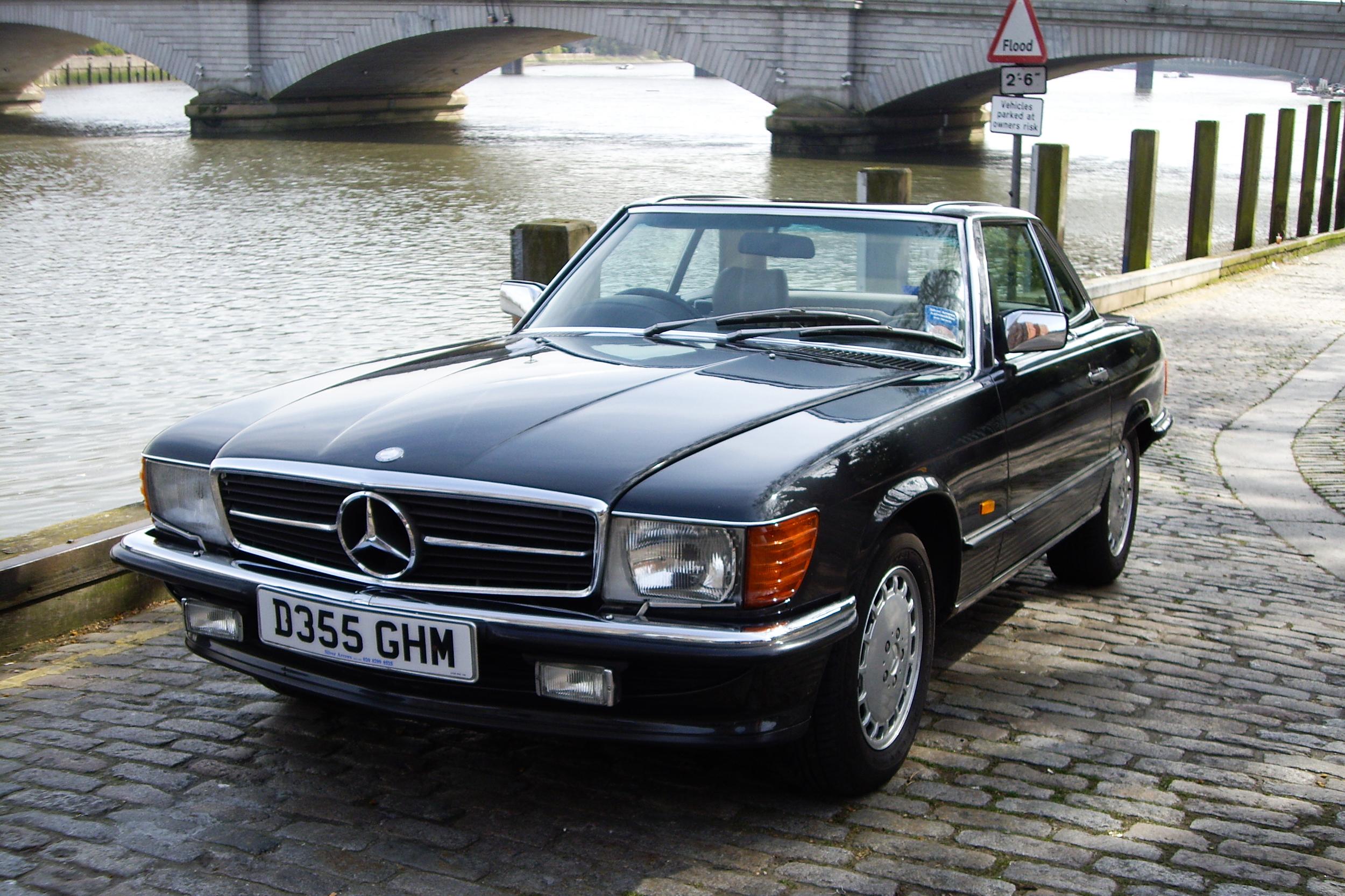 1986 Mercedes-Benz 500SL