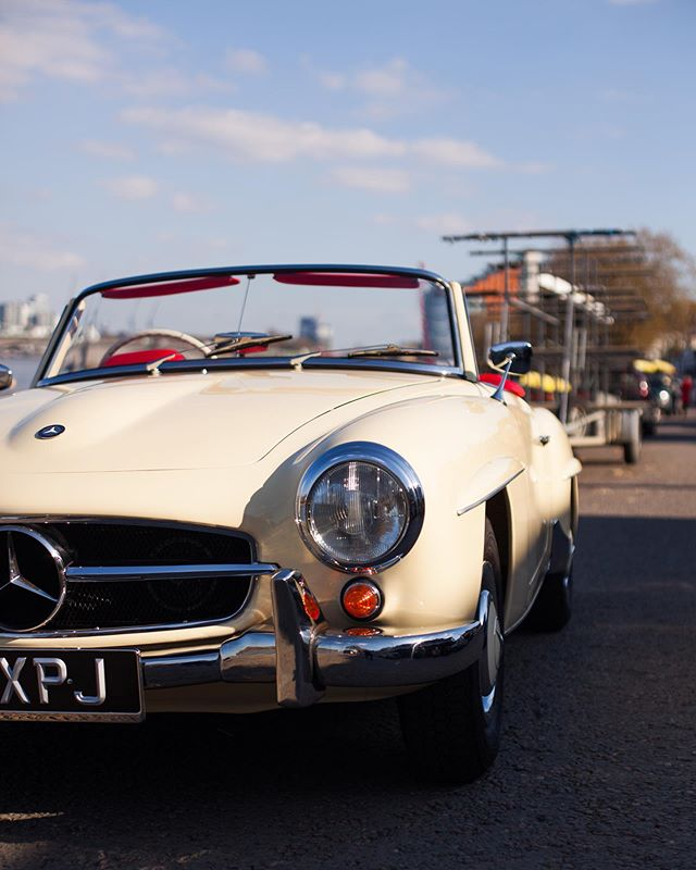 Period colour schemes are probably more popular today than ever before.  This 190SL looks stunning its original Ivory and Red colour scheme. If you're in the market for a RHD 190SL, look no further...
