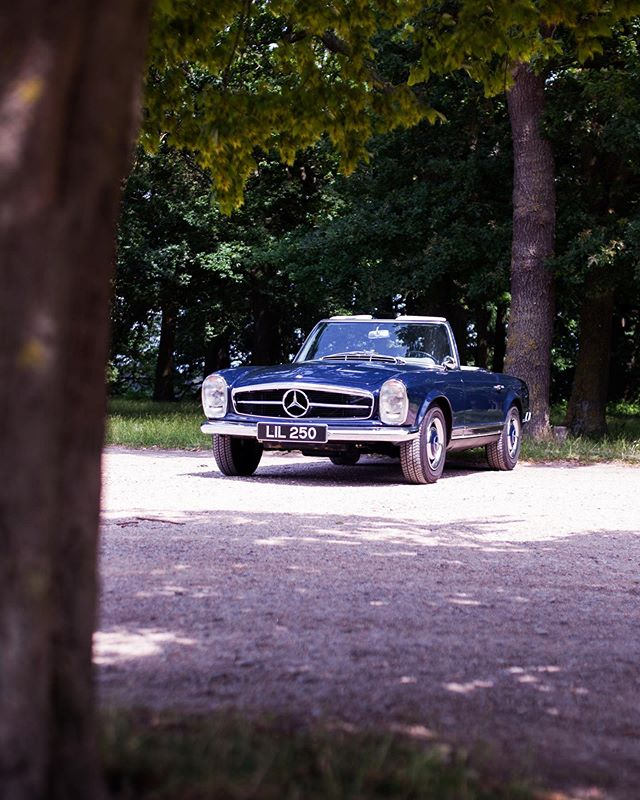 We've been making the most of the great weather, getting out in our wonderful 250SL! Have a great weekend all!