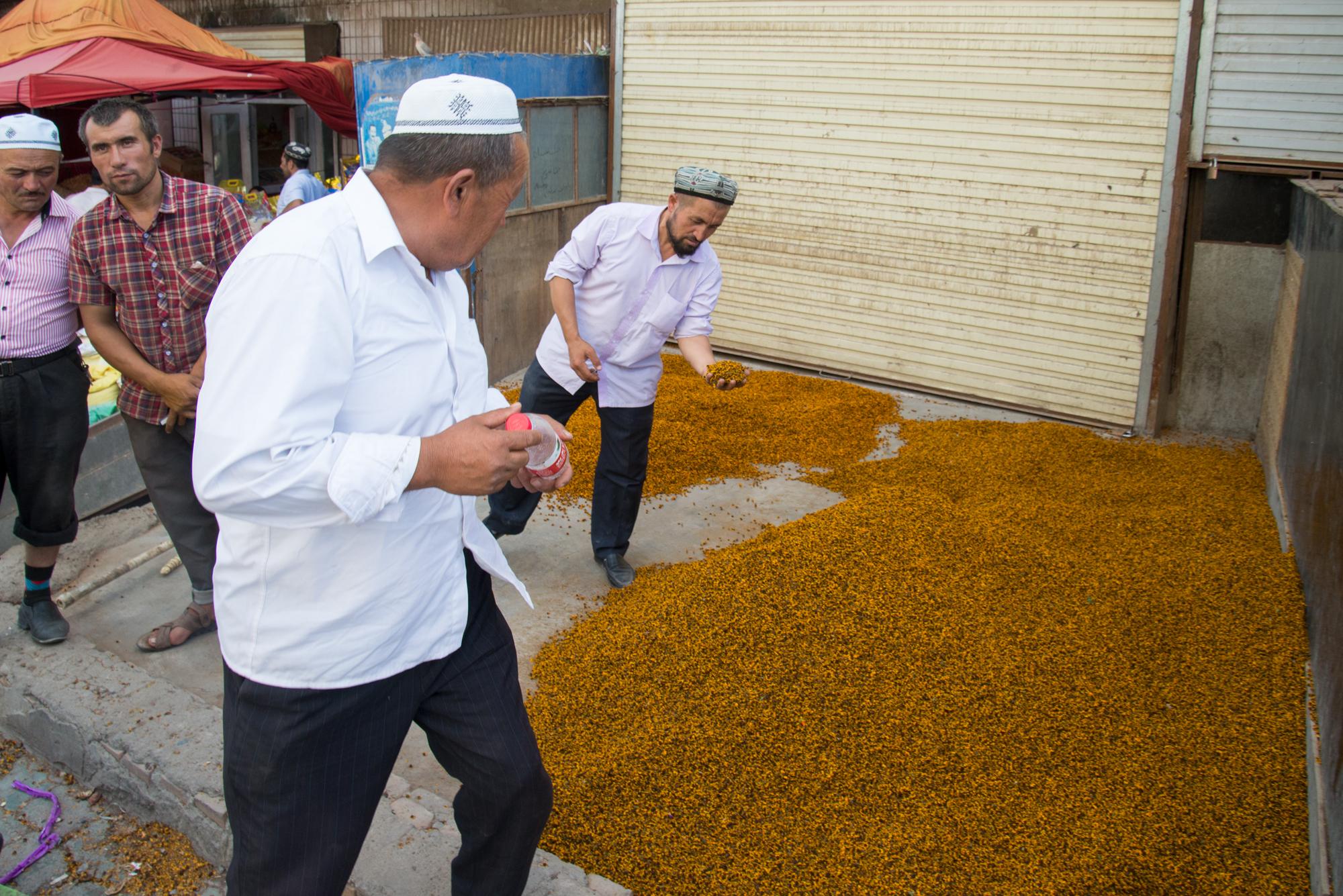 Spice Vendor, Kashgar Bazaar