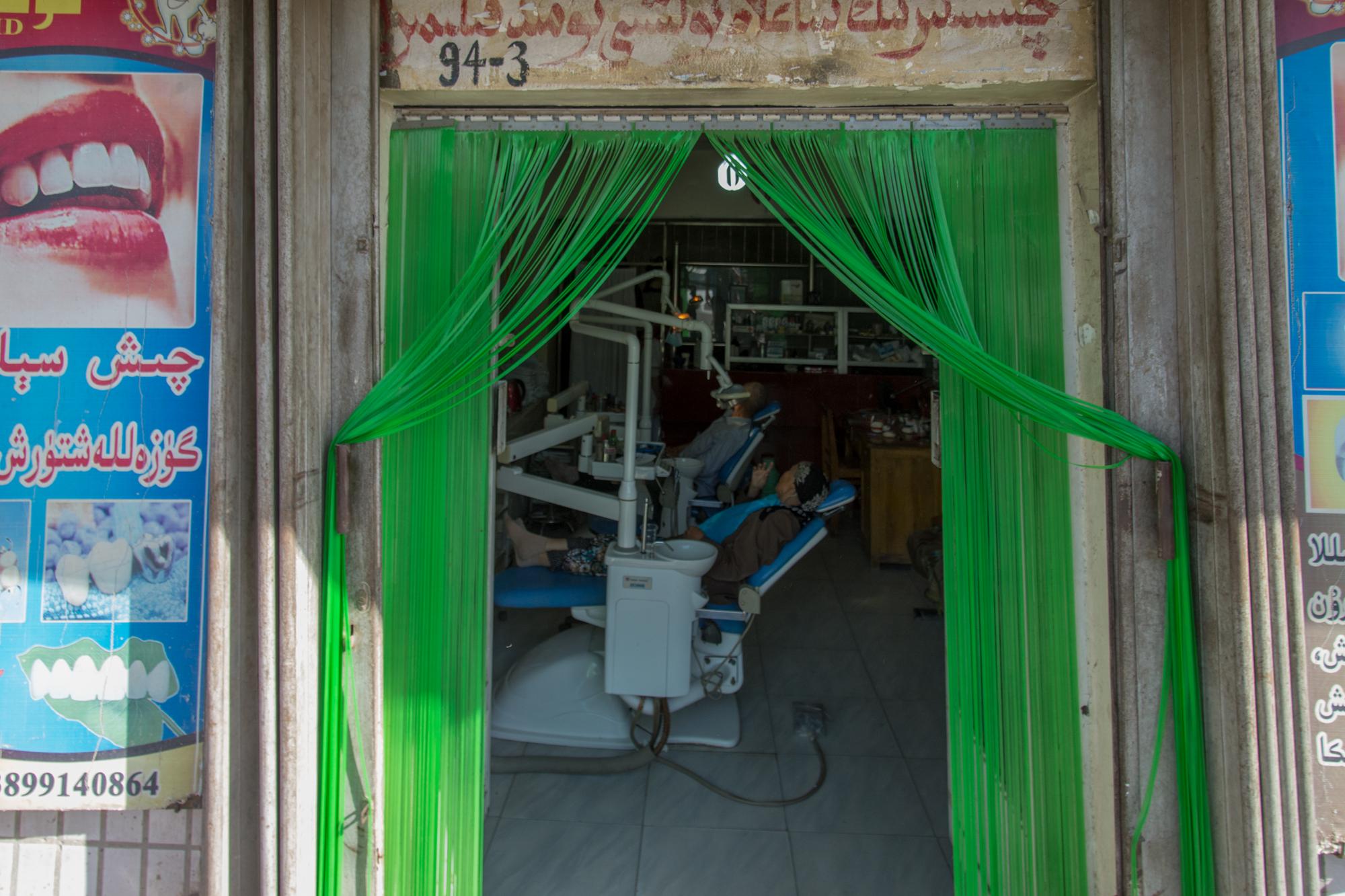 Streetside Dentist, Kashgar Baazar