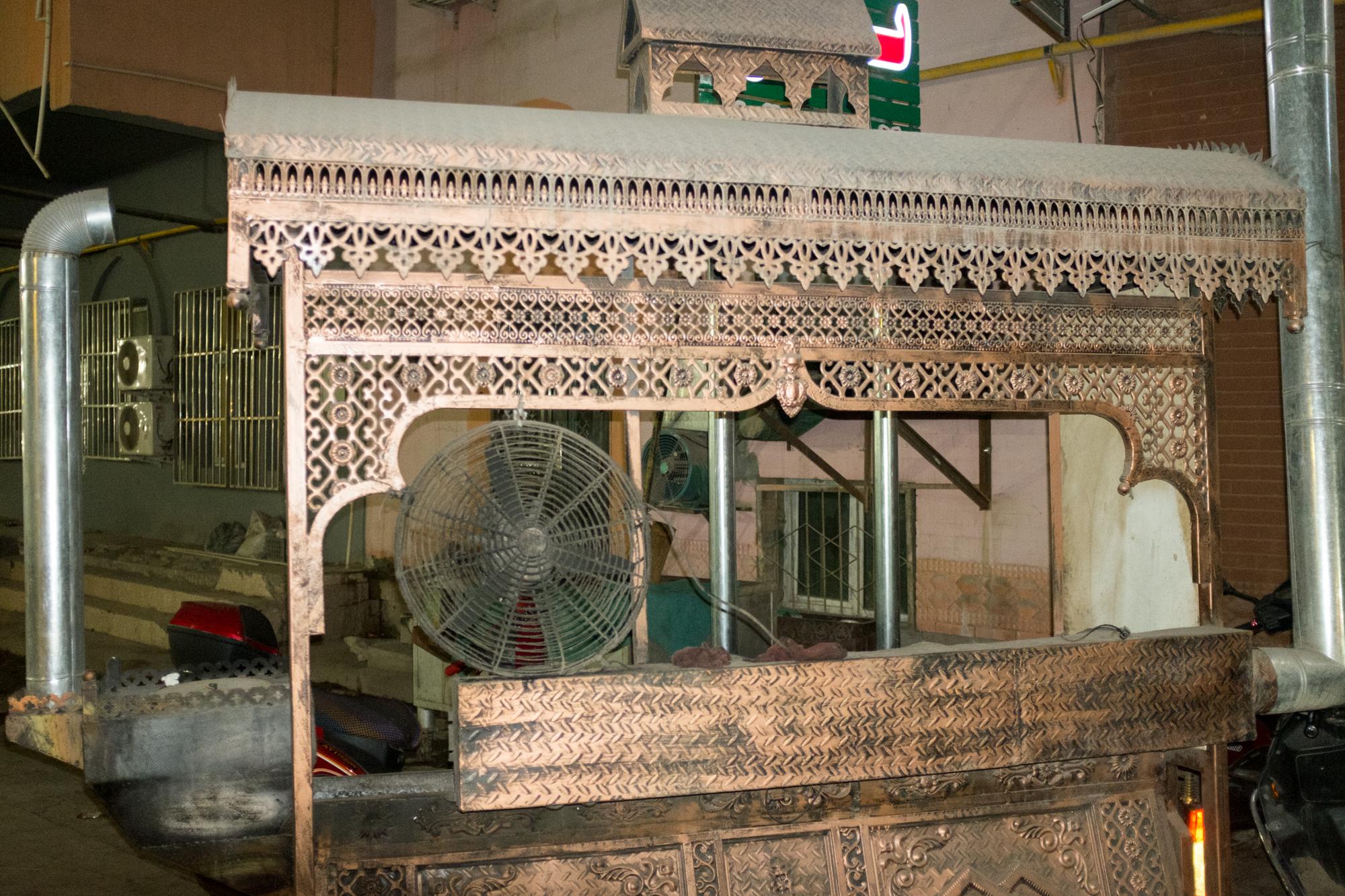 Kabob Cart, Kashgar