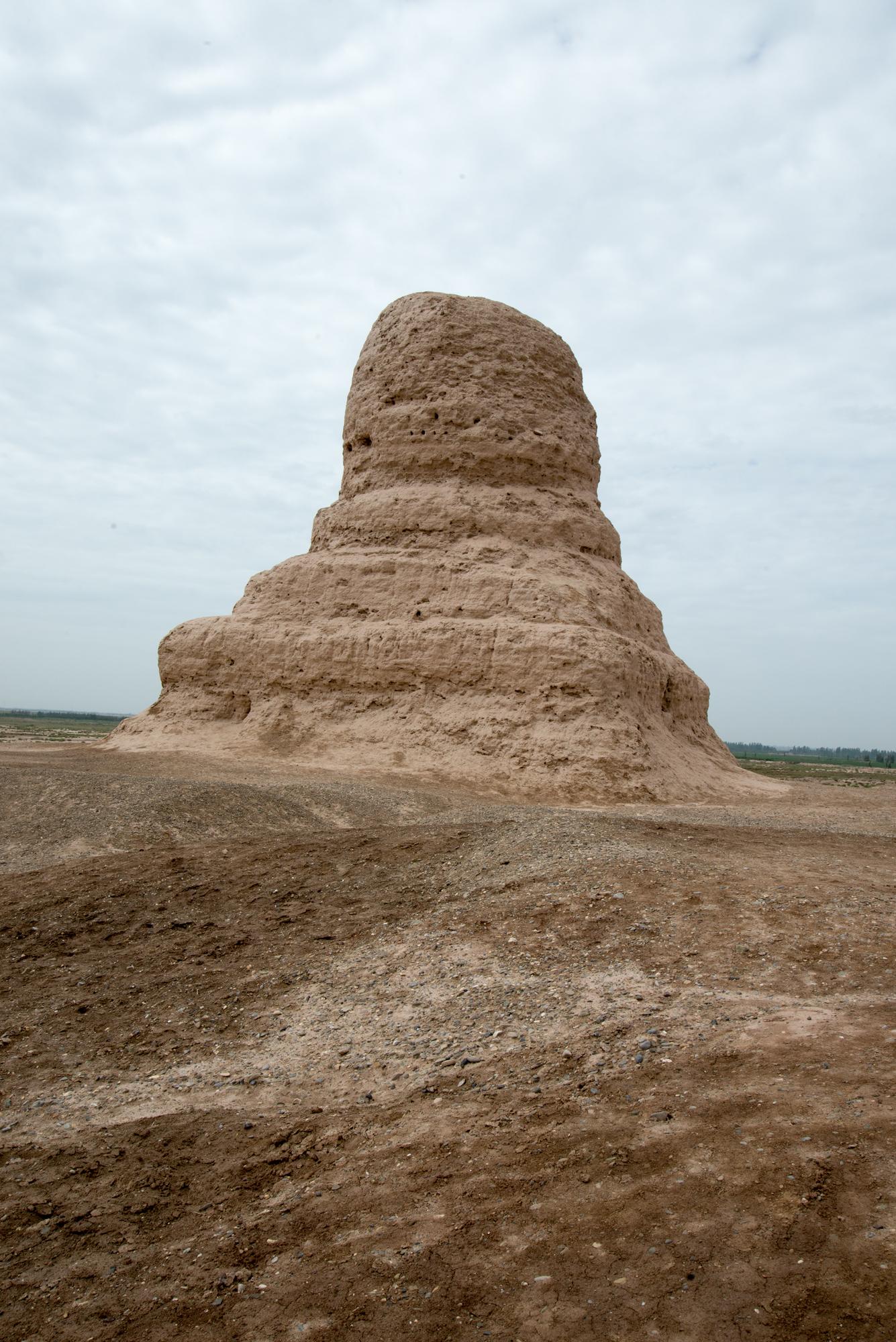 Mor Buddhist Stupa, Kashgar, Xinjiang, China