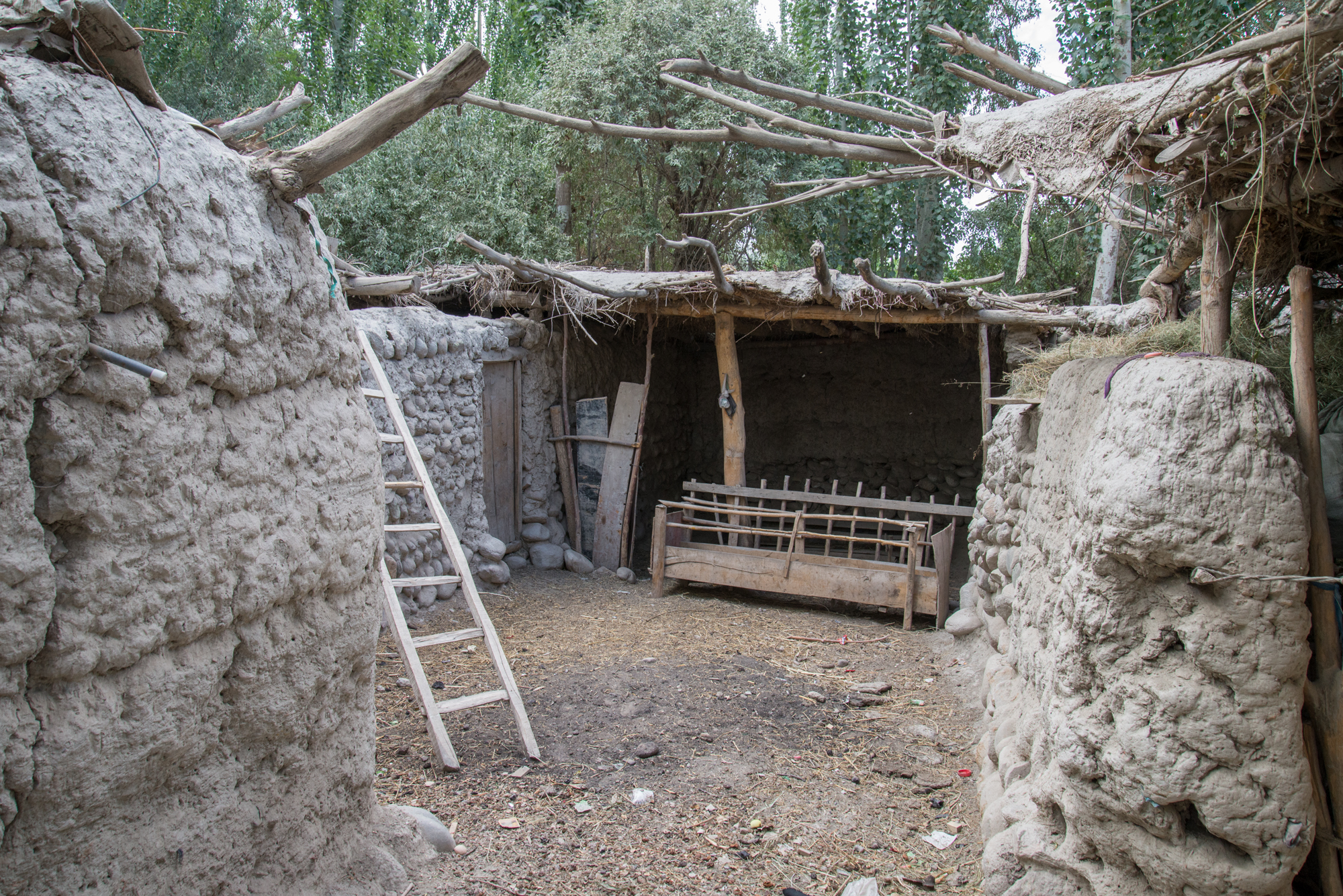 Uygur Animal Pen, near Kashgar China