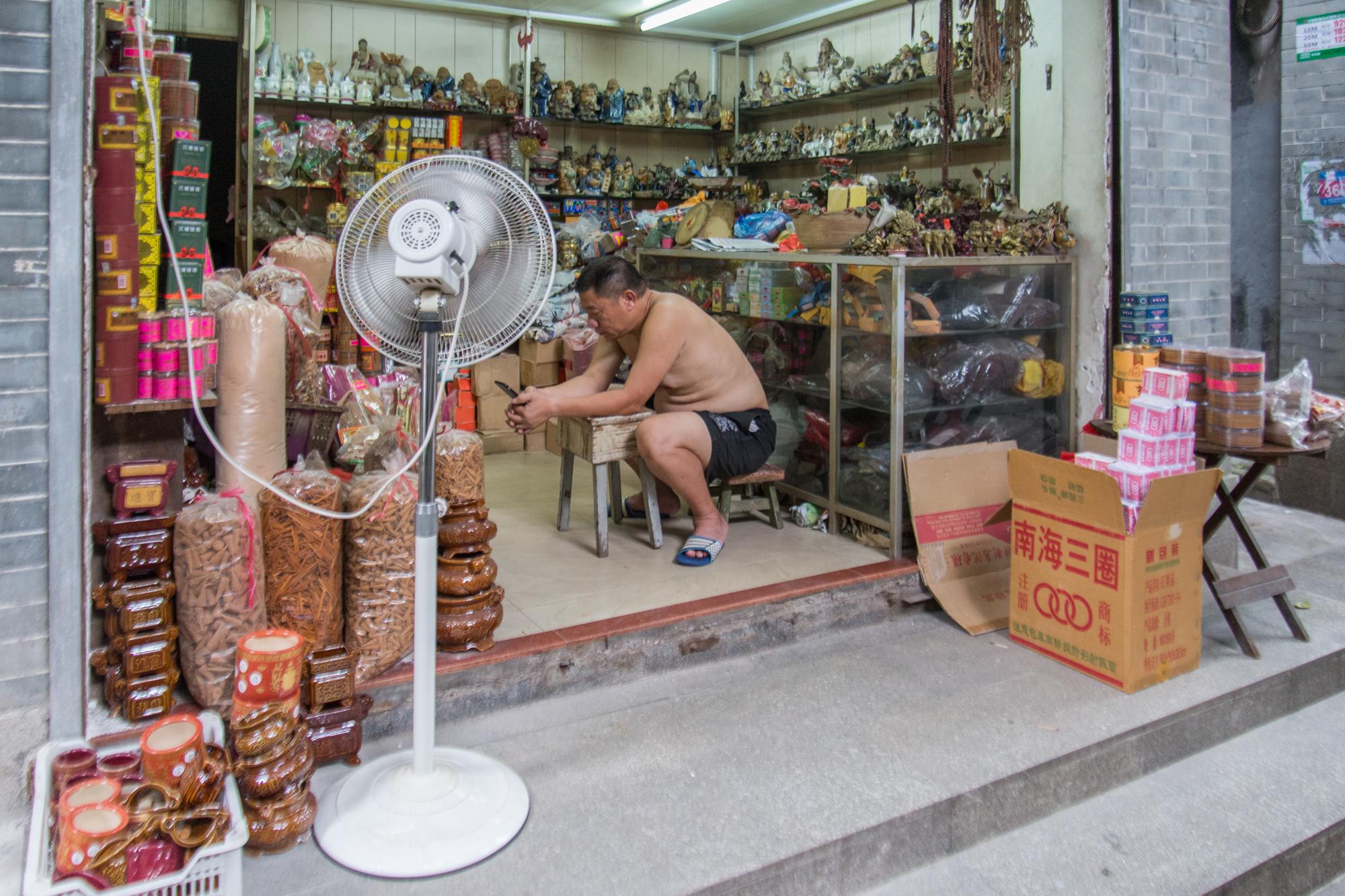 Buddhist Offering Shop