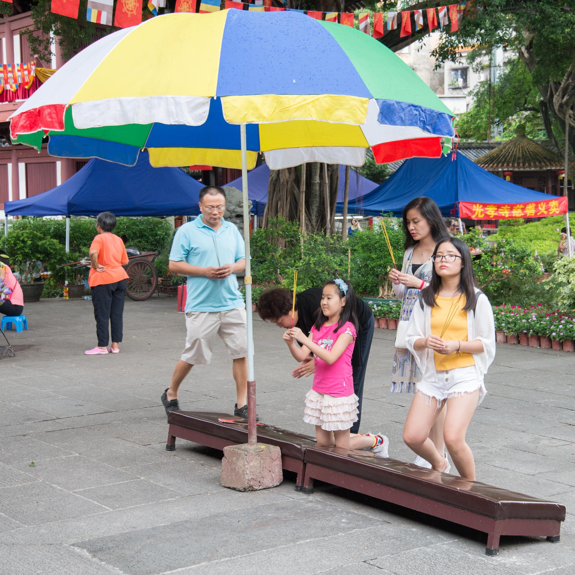 Guangxiao Buddhist Temple, Buddhist Prayer