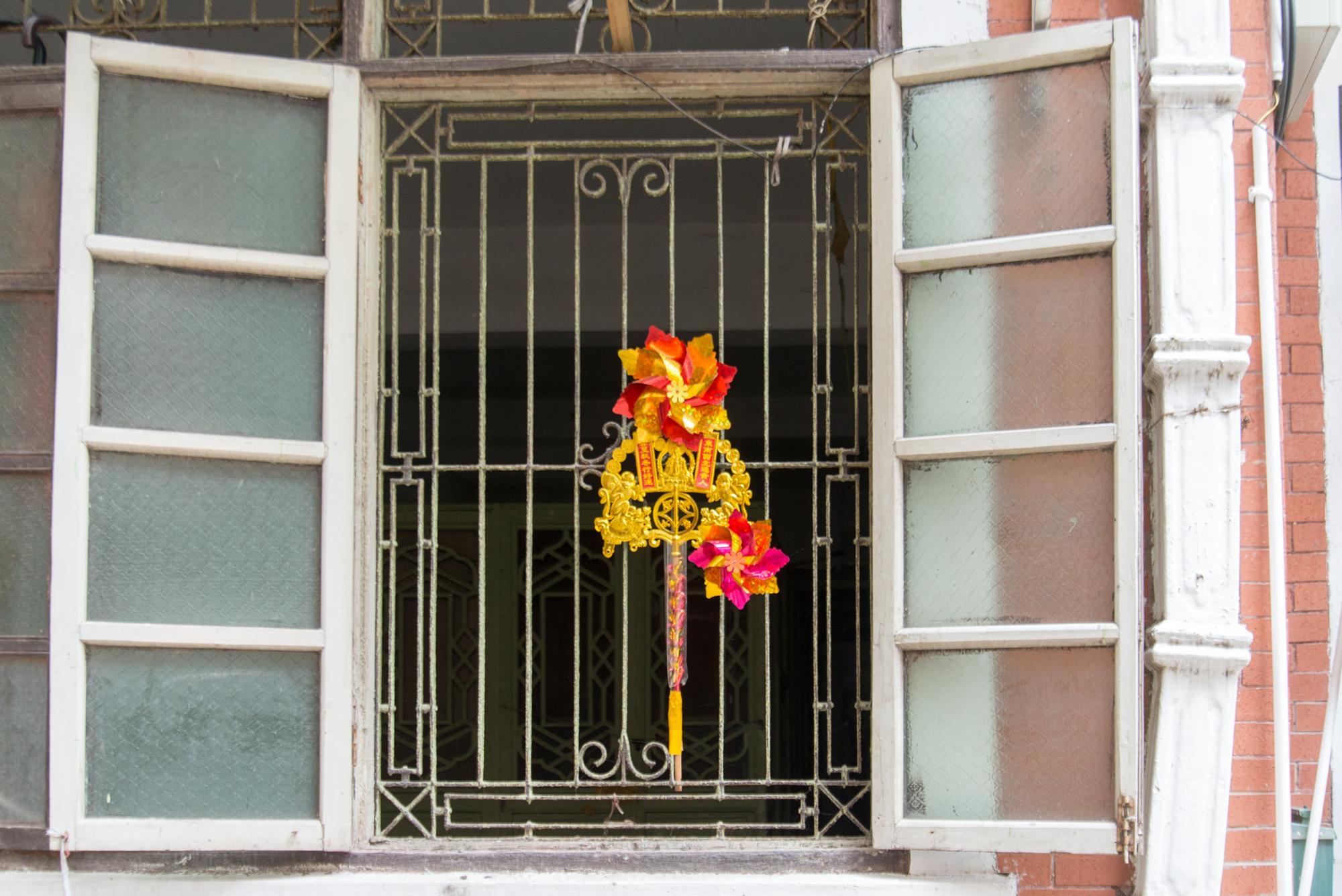 Buddhist Window Pendant