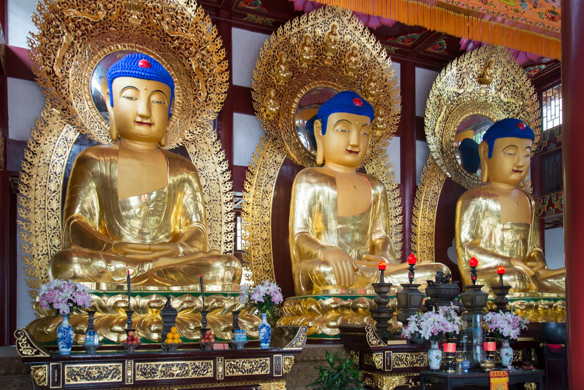 Guangxiao Buddhist Temple, Buddha