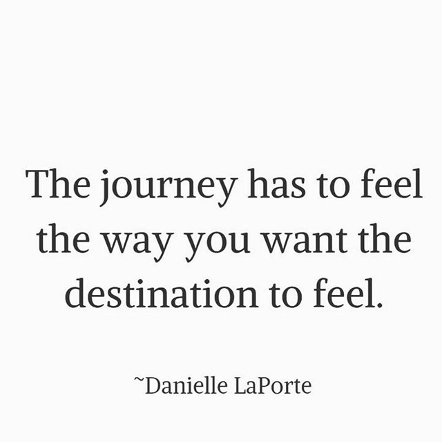 How do you want it to feel? . . Quote via @daniellelaporte 🙏🏽💗 . . . #thejourney #howdoyouwanttofeel #thedestination #movementislife #livealifeyoulove #courageous #movementcoach #vulnerability #dothework #feelings #allthefeels #choose @shannonembodypilates