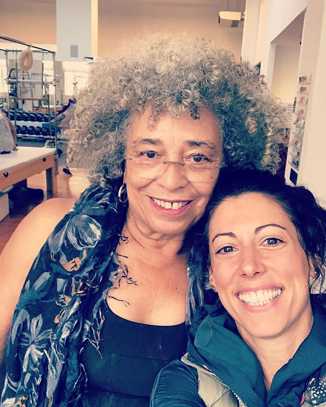 12 years going strong working with this one 💪🏽👍🏾💗🙏🏽 #angeladavis . . #movetheworld #moveyourbody #movementislife #strongwomen #relationshipgoals #committed #doingthegoodwork #courageous #movementcoach #pilatesbody #somuchgratitude #passion #purpose #healthyliving #leadbyexample #herestoanotheryear #connection #lifeisbetterwithyou #thankyouforchoosingme