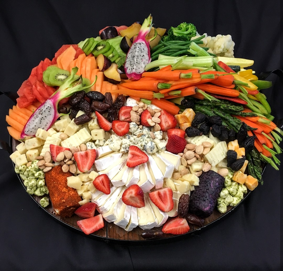 Cheese & Vegetable Board