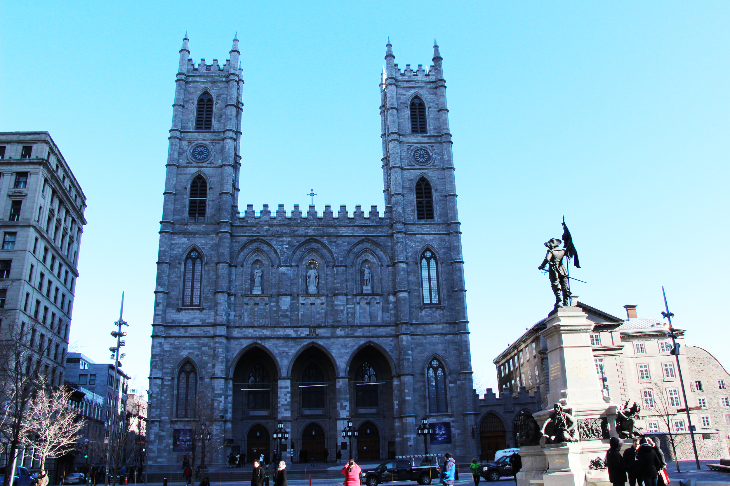 Notre-Dame Basilica of Montreal Montreal, Quebec, Canada 2013
