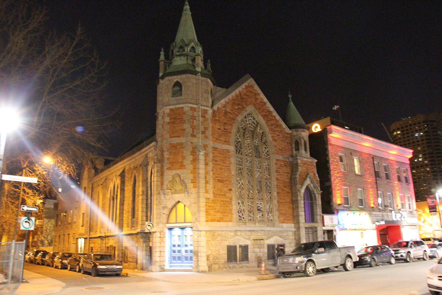 Eglise Unie St-Jean Montreal, Quebec, Canada 2013