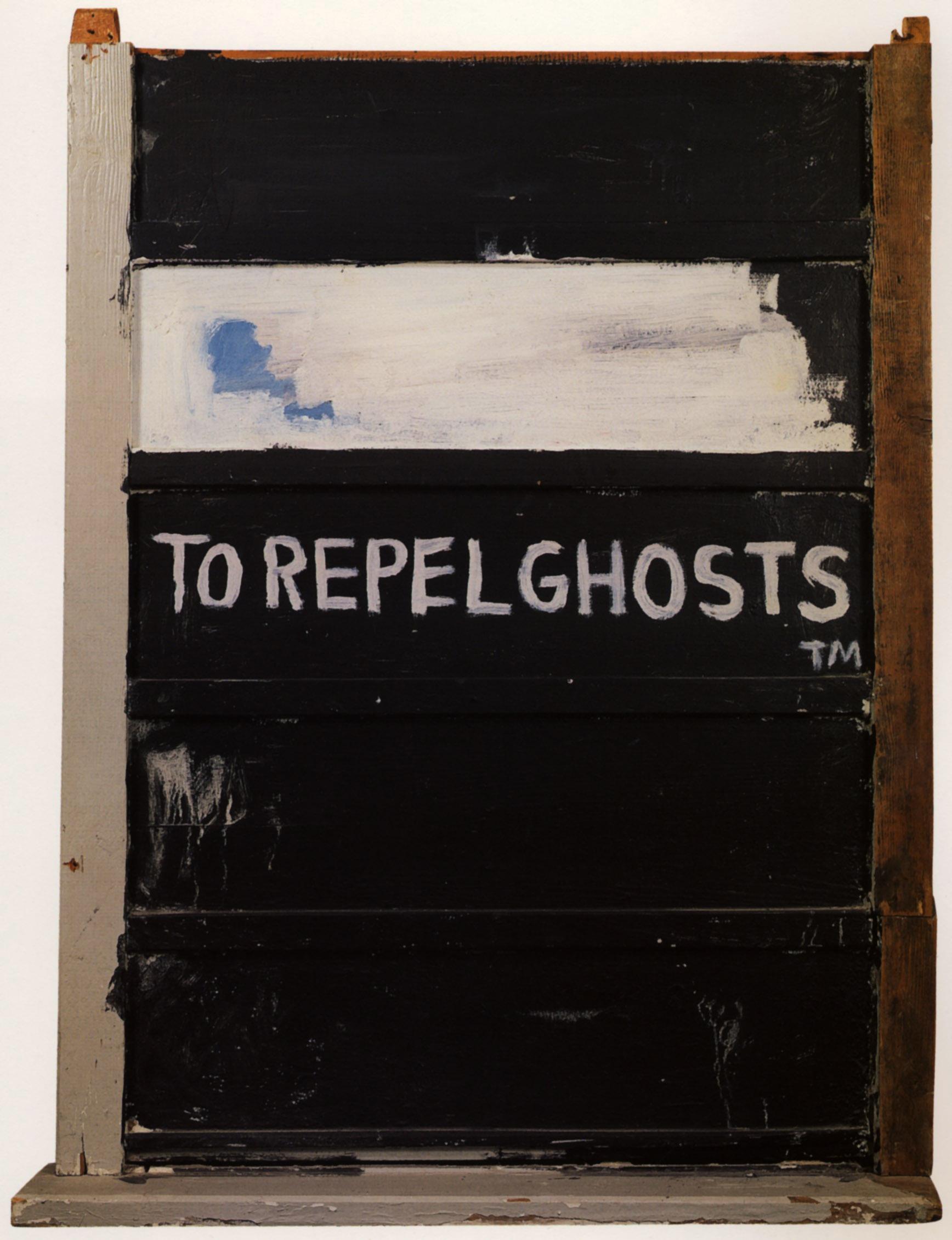 Jean-Michel Basquiat To Repel Ghosts. 1986