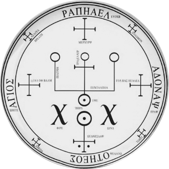 Seal of the archangel Raphael