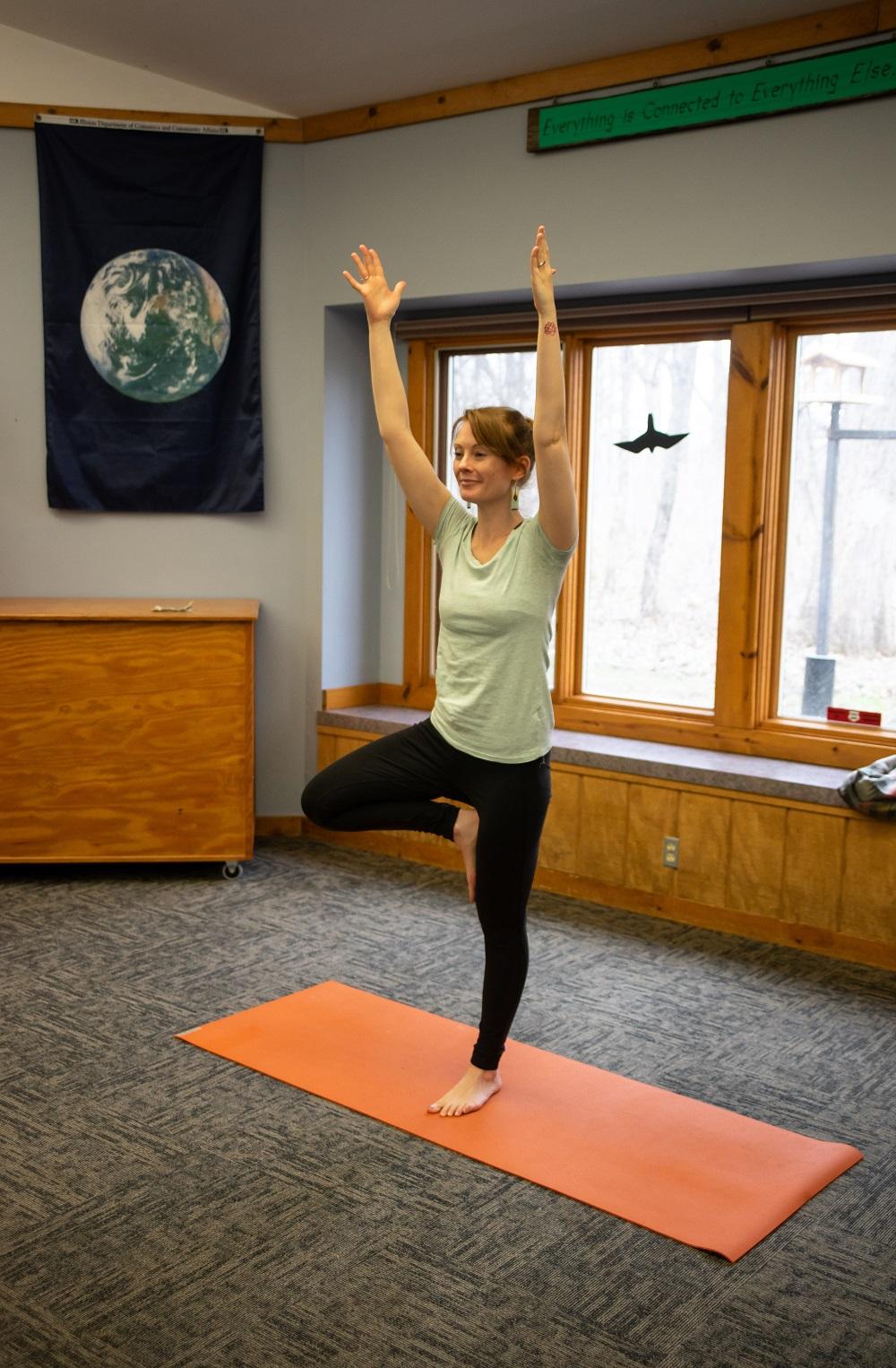 Amanda Stivers, Yoga at the Dells