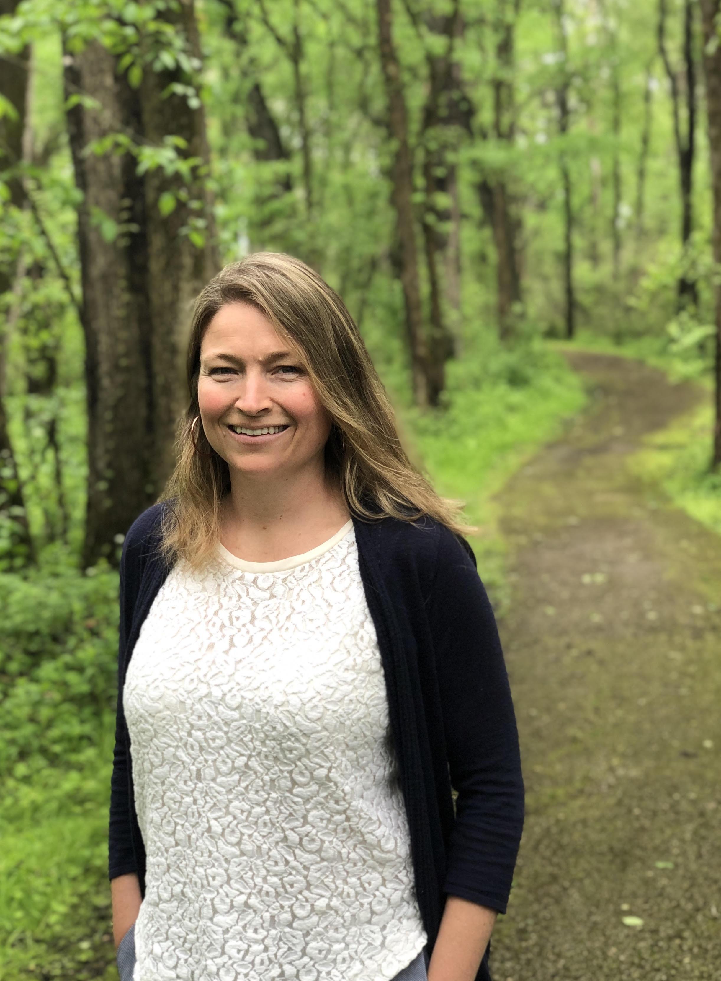 Ann Wasser, Director of Severson Dells Nature Center. Photo by Jessie Crow Mermel