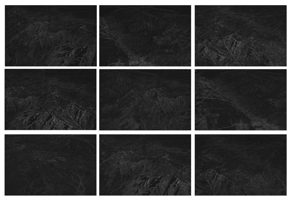 "Arizona , Digital pigment prints, 4""x5"" each, 2012"