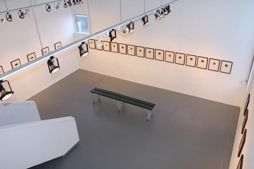 Installation view,  A Range, Arranged , 2011