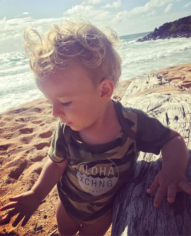 Baby beach vibes. #alohaexchange #saturdaystrolling #kauailife