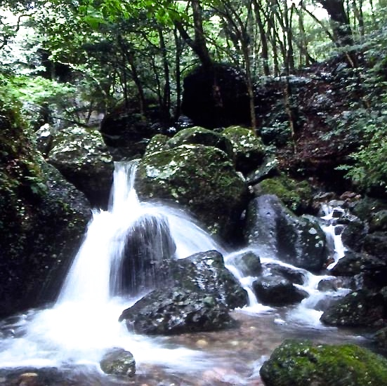 The waters of Black Hair Mountain.