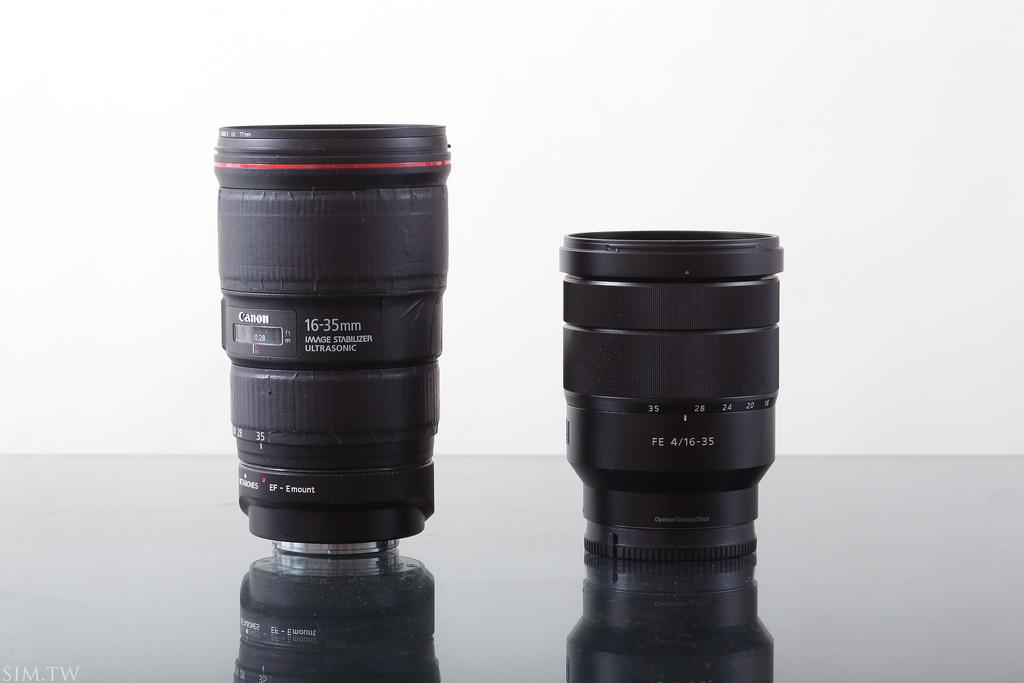 Canon 16-35mm f/4 vs Sony 16-35mm f/4