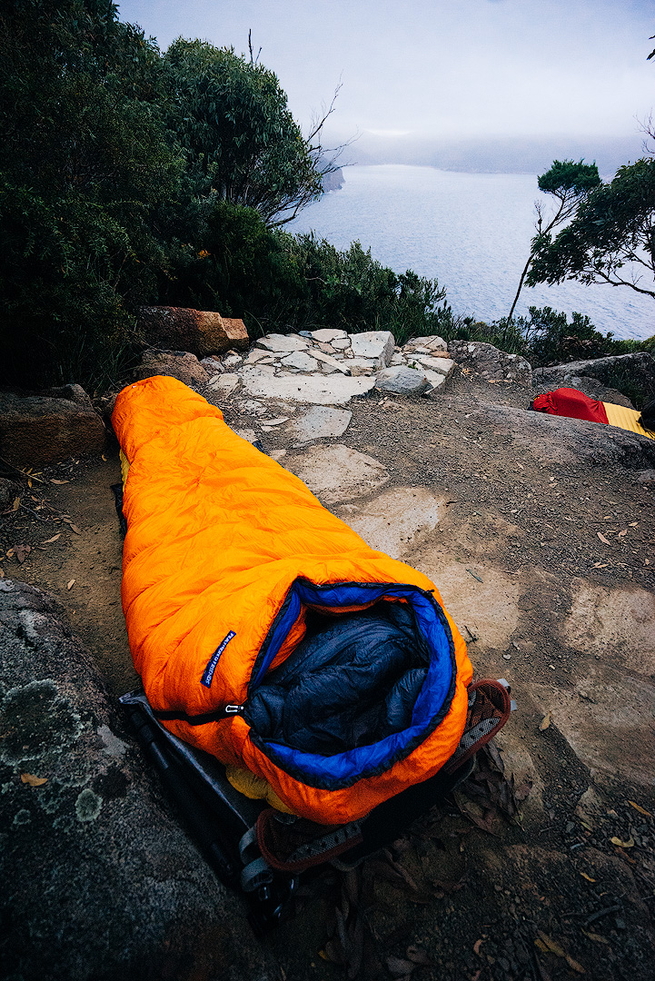 Sleep System - Campsite at Cape Hauy