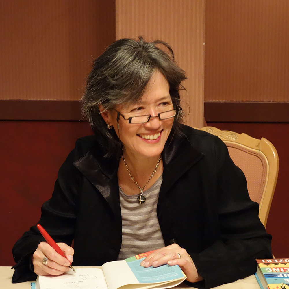 At reading for  Copperfield's Booksin Santa Rosa, March 21, 2013. Photo: Laura Trippi