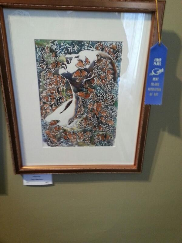 by Amy Maddox (First Place in Watercolor)