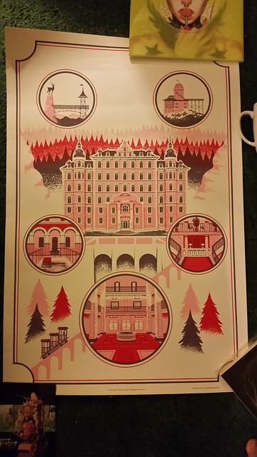 The Grand Budapest Hotel by Alex Pearson
