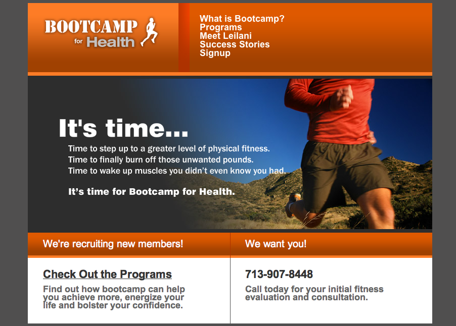 Bootcamp for Health