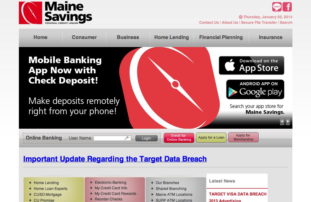 Maine Savings Credit Union