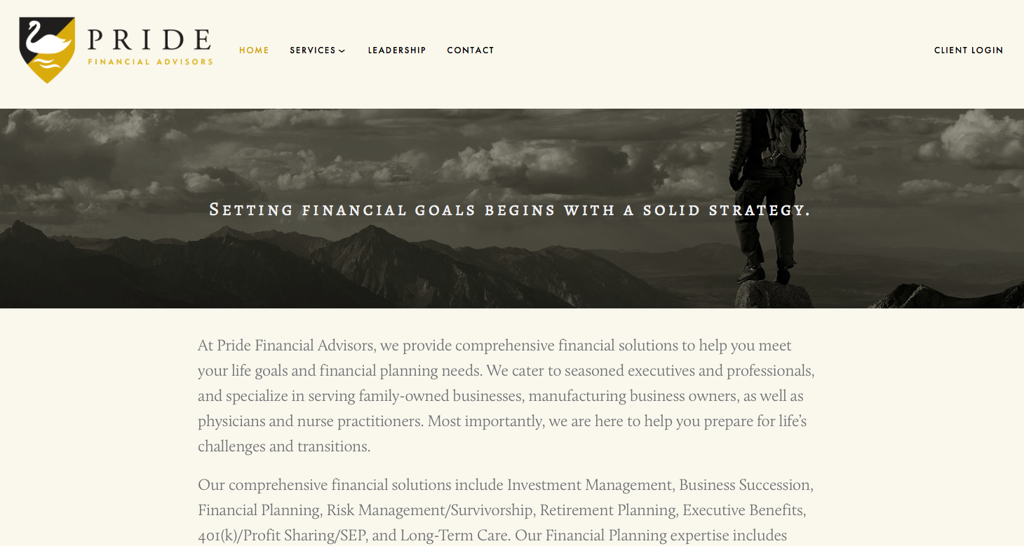 Pride Financial Advisors