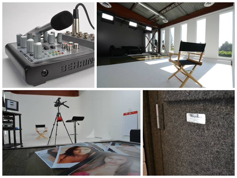 - Film / TV / VO6 pre-lit on-camera studios2 production studios1 voiceover studioVideo conferencingGated & valet parking for clients